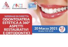 Odontoiatria estetica a 360° aspetti restaurativi e ortodontici