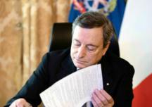 Il Presidente Draghi firma il Dpcm 2 marzo 2021
