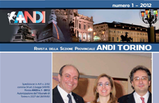 Rivista ANDI Torino - N.1 / 2012