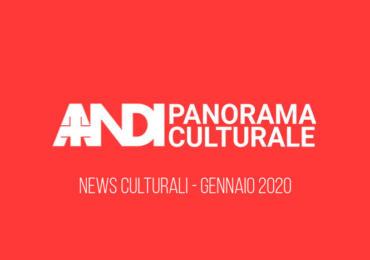 News culturali - Gennaio 2020