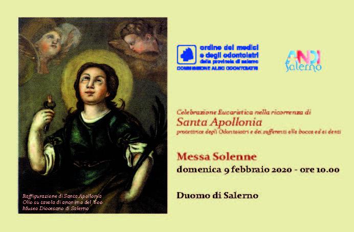ANDI Salerno - Messa per Santa Apollonia