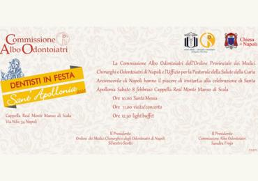 ANDI Napoli - Celebrazione di Santa Apollonia