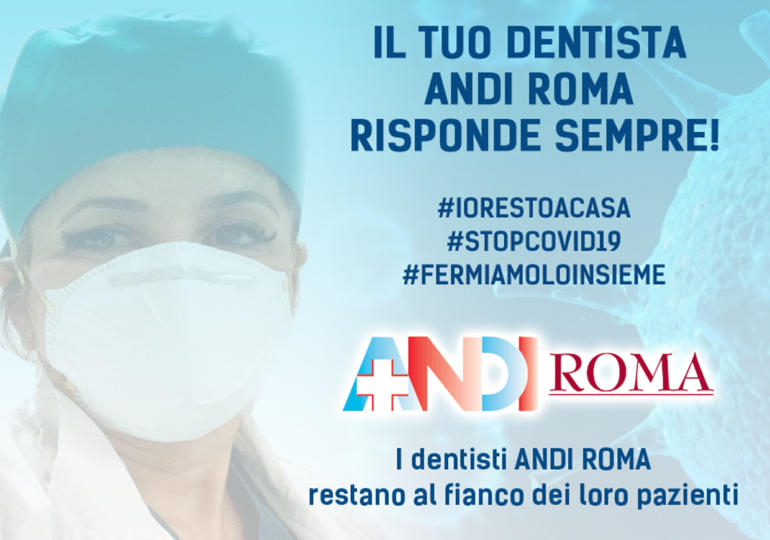 Dichiarazione Sabrina Santaniello Presidente ANDI Roma - Iniziative Emergenza Covid