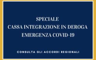 Importanti aggiornamenti sulla cassa integrazione straordinaria in deroga