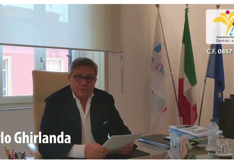 Carlo Ghirlanda per Fondazione ANDI onlus