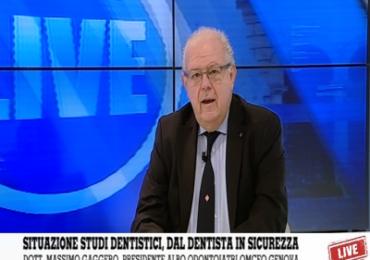 """Genova, Gaggero: """"Gli studi dentistici sono luoghi sicuri, cure e prevenzione continuano"""""""