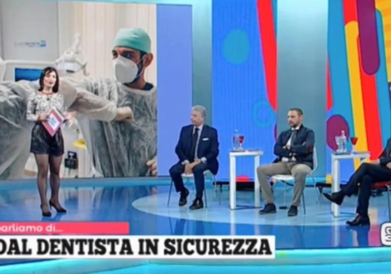 Dal dentista in sicurezza: ANDI Toscana ne parla alla trasmissione Tadà
