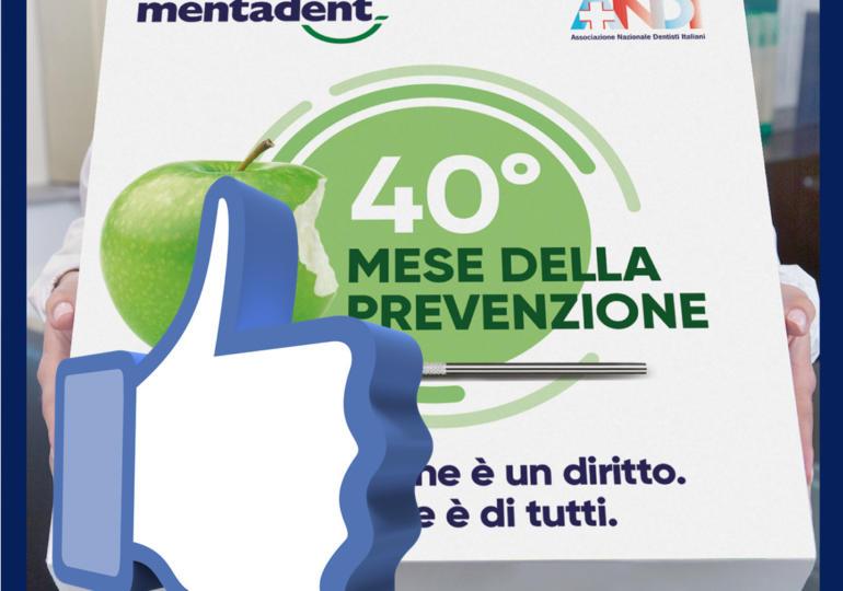 Migliaia di like per il 40°Mese della Prevenzione