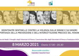 Odontoiatri sentinelle contro la violenza sulle donne e sui minori