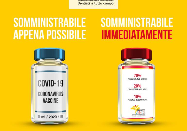 #Covid-19: l'importanza del vaccino e il contrasto delle fake news!