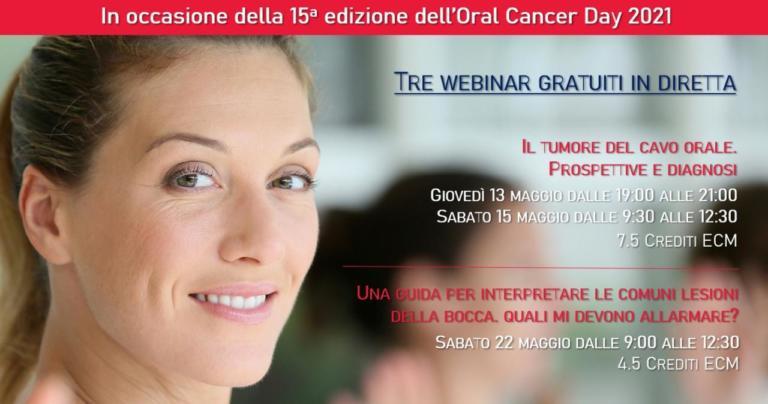 """Oral Cancer Day 2021. Giuseppina Campisi presenta il webinar """"Il tumore del cavo orale. Prospettive e diagnosi"""""""