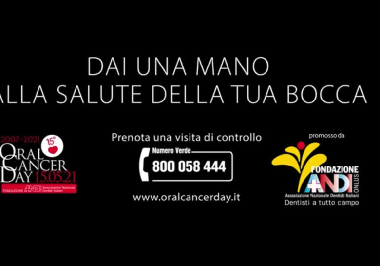 Guarda il nuovo spot Oral Cancer Day!