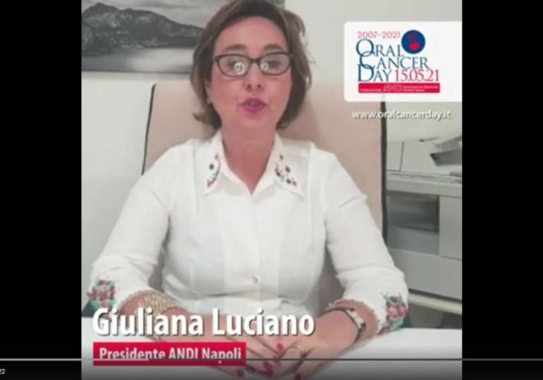Video appello del Presidente ANDI Napoli, Giuliana Luciano