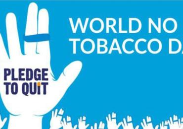 Stop al tabacco - il 31 maggio è  World No Tobacco Day