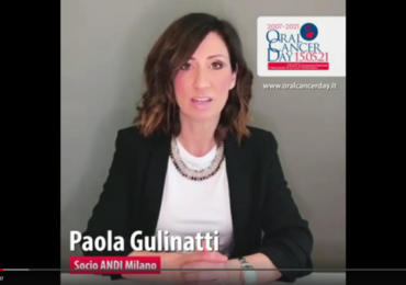 Video appello della socia ANDI Milano, Paola Gulinatti