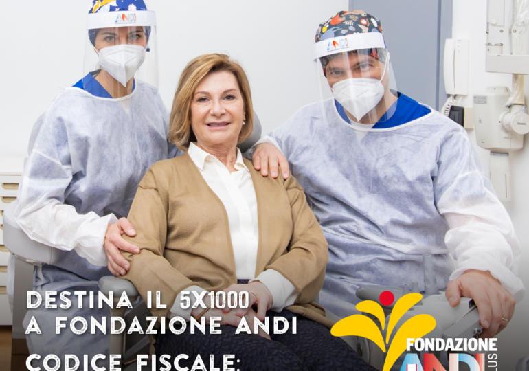 📣Con il tuo 5x1000 a Fondazione ANDI onlus porterai il tuo aiuto a tutti, anche a te stesso.