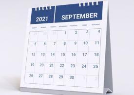 Tutte le scadenze di settembre