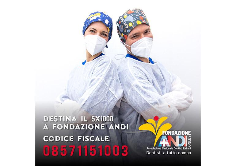 Non dimenticarti del 5x1000 a Fondazione ANDI!