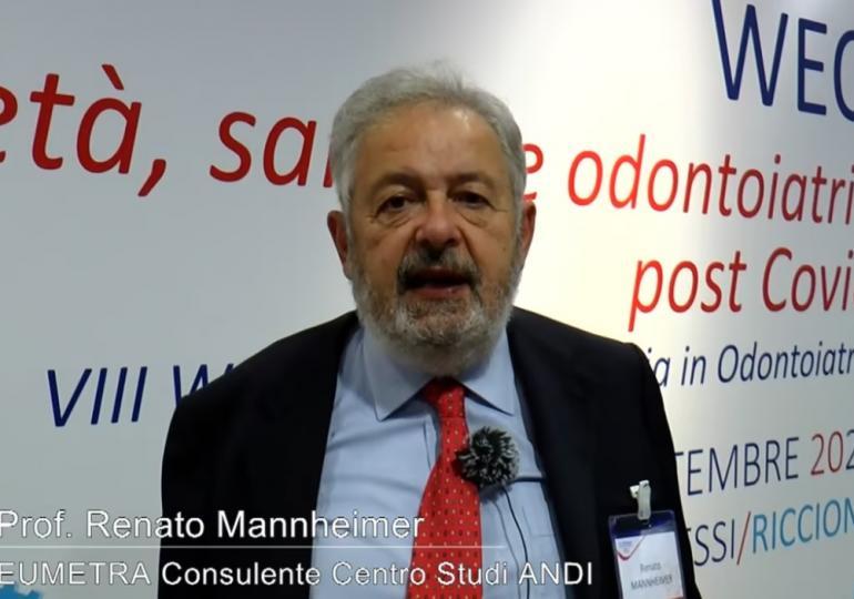 Renato Mannheimer: gli atteggiamenti degli italiani verso la professione odontoiatrica
