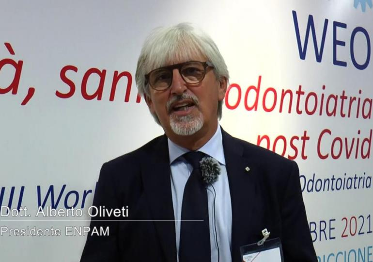 Alberto Oliveti, Presidente ENPAM: bisogna coniugare la ripresa economica con il rilancio professionale