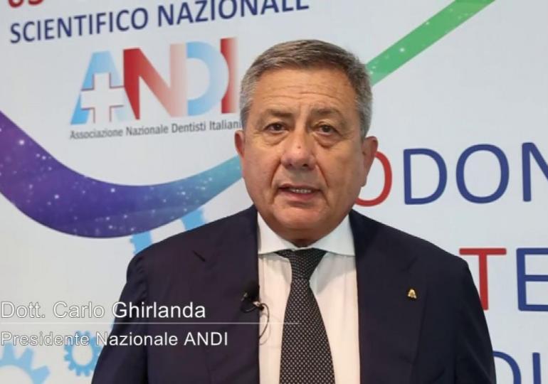 Carlo Ghirlanda, Presidente nazionale ANDI: un Congresso realizzato in sinergia con CAO