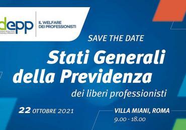 I liberi professionisti si incontrano a Roma il 22 ottobre 2021 per gli Stati Generali della Previdenza